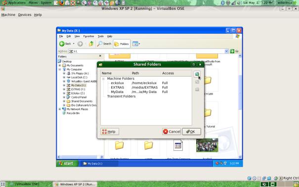 Tambah Folder Hardisk...