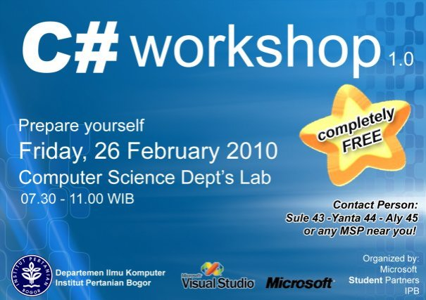 C# Workshop